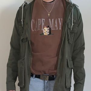 Brown Vintage Cape May sweatshirt